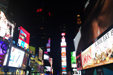 New York at Night Double-Decker Bus Tour