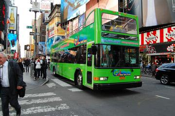 Tour in bus All City NYC per autobus scoperto a due piani Hop-On