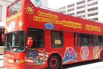 Doppeldeckerbus Hop-On Hop-Off Sightseeing-Tour durch Philadelphia