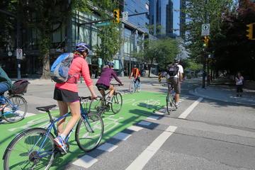 Excursão de bicicleta no centro de Vancouver e Parque Stanley