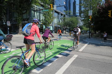 Visite en vélo du centre de Vancouver et de Stanley Park