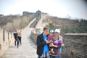Excursão familiar privada em Pequim: Grande Muralha em Mutianyu