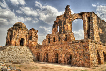 Full-Day Private Tour of Delhi's Hidden Gems including the Old Fort, Feroz Shah Kotla and the Tomb of Safdarjung