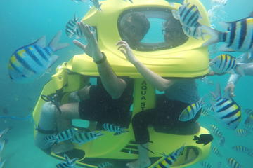 Water Sports Bali Package: SeaWalker, Underwater Scooter, Banana Boat Riding