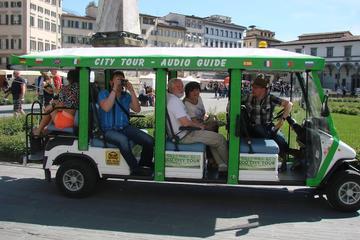 Excursão turística a pé e de carro elétrico