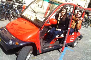Fahrt mit dem Elektrowagen durch Florenz