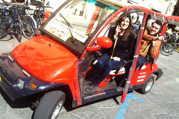 Tour di Firenze in macchina elettrica