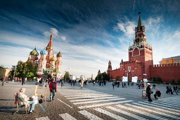 Landausflug St. Petersburg: Private Tagestour nach Moskau ab St...