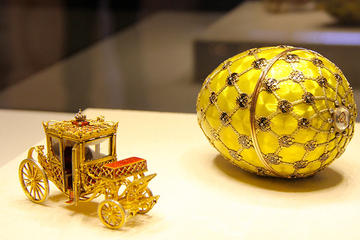 Private Tour zum Faberge-Museum ab Sankt Petersburg