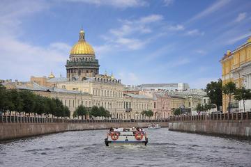 Tour privato: crociera sul canale a San Pietroburgo