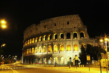 Zonder wachtrij: Wandeltocht naar het Colosseum, het Forum Romanum en ...