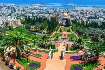 Caesarea Haifa Megiddo Akko tour from Kfar Saba