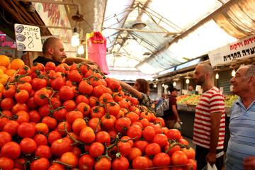 Bitemojo self-guided culinary tours of Jerusalem: Mahane Yehuda Food...