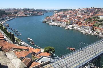 Recorrido a pie por los lugares esenciales de Oporto con cata de vinos