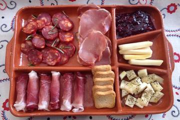 Recorrido de comida, vino y aceite de oliva a pie en Oporto