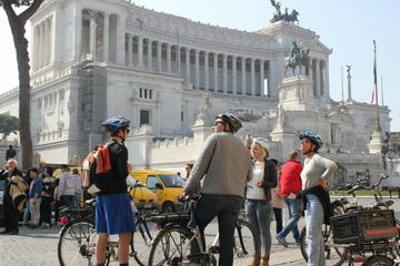 Tour en bicicleta eléctrica guiado semiprivado de Roma