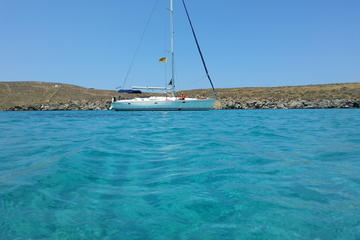 Small-Group Full-Day Sailing Yacht Cruise to Delos and Rhenia Islands