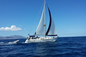Small-Group Full-Day Sailing Yacht Cruise to Rhenia Island
