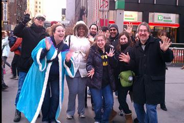 Excursão a pé aos teatros musicais da Broadway