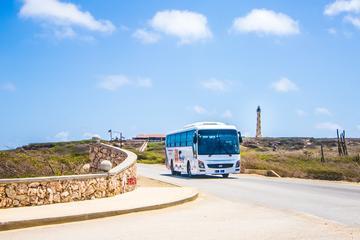 Aruba Island Sightseeing Tour Plus Arashi Beach
