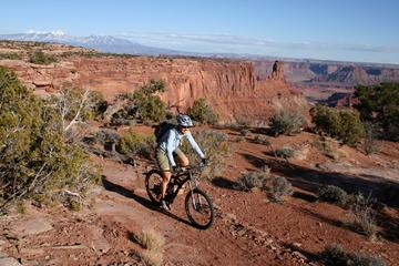 Day Trip Half-Day Guided Mountain Biking Tour in Moab on Dead Horse near Moab, Utah
