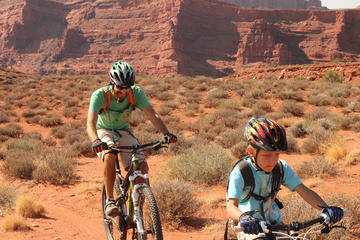 Day Trip Introductory Mountain Biking Adventure in Moab Courthouse near Moab, Utah