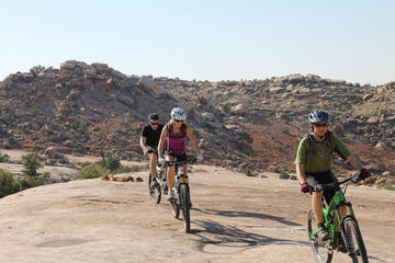 Day Trip Klondike Bluffs Trail 11-Mile Guided Mountain Biking Adventure near Moab, Utah