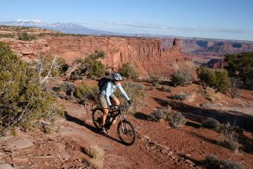 Moab Dead Horse Point Mountain Biking Experience