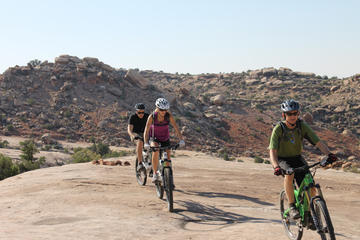 Moab Klondike Bluff Mountain Biking Experience