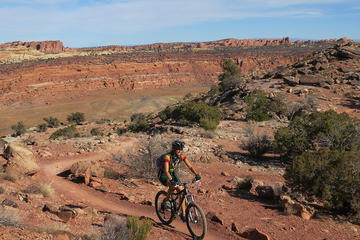 Day Trip North Klondike Bluffs 12-16 Mile Guided Mountain Bike Tour near Moab, Utah