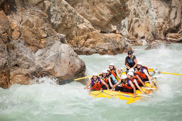 Book Rafting Adventure on the Kicking Horse River on Viator