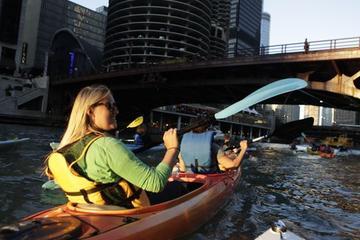 Excursión en kayak por el río Chicago