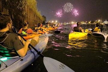 Excursion en kayak à Chicago avec feux d'artifice au Navy Pier