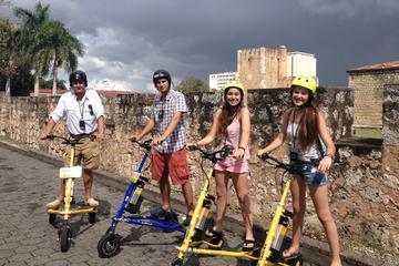 Tour della città in trikke a Santo Domingo