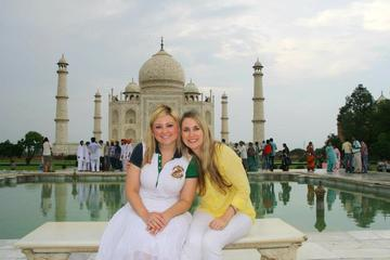 2 dias Taj Mahal Agra Tour de carro