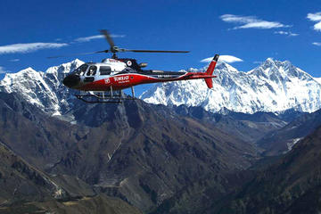 Everest Panoramic Mountain Flight by Plane or Helicopter