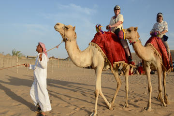 Morning Camel Trekking Safari from...
