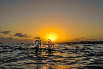 Solnedgangstur til Utopia Island med snorkling