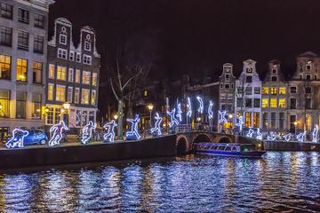Bootstour beim Lichtfestival in Amsterdam