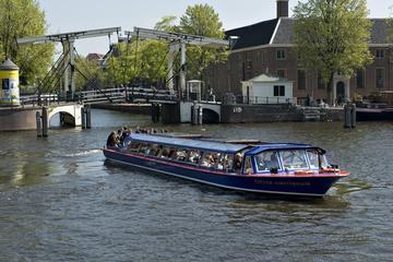 Croisière sur les canaux à Amsterdam...