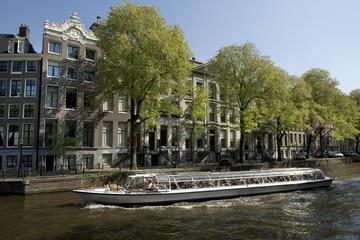Croisière sur les canaux de la ville d'Amsterdam plus billet...