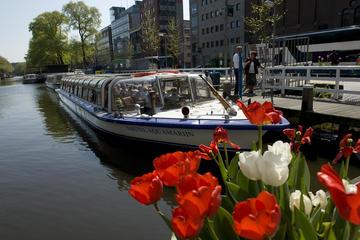 Crucero por el canal de la ciudad de Ámsterdam