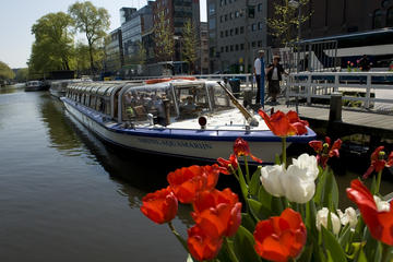Kanal-Bootstour in Amsterdam