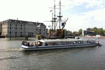 Kanalkryssning i Amsterdam och Sjöfartsmuseet