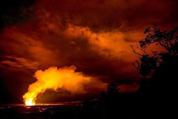小グループ ツアー:レストランでのディナー付きデラックス火山体験