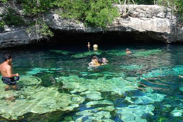 Visite avec plongée libre Aventure Maya au départ de Playa del Carmen...