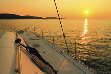 Private Catamaran Sunset Cruise from...
