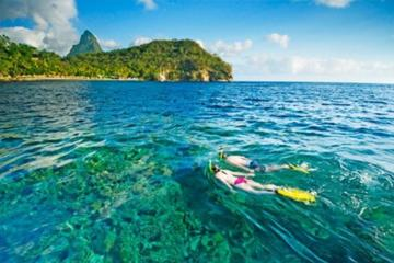 Private St Lucia Full Day Snorkeling...