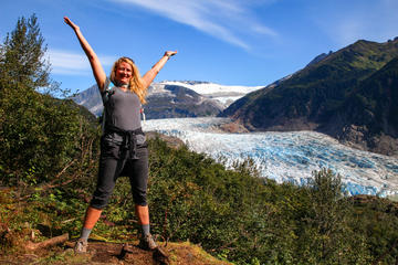Adventure Hike Along Mendenhall Glacier