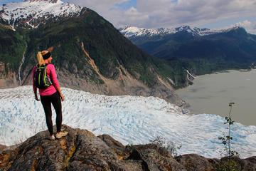Aventura de senderismo y visualización de glaciar de Mendenhall desde...